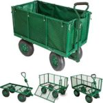Chariot de jardin remorque en métal de capacité 300kg de marque Probache